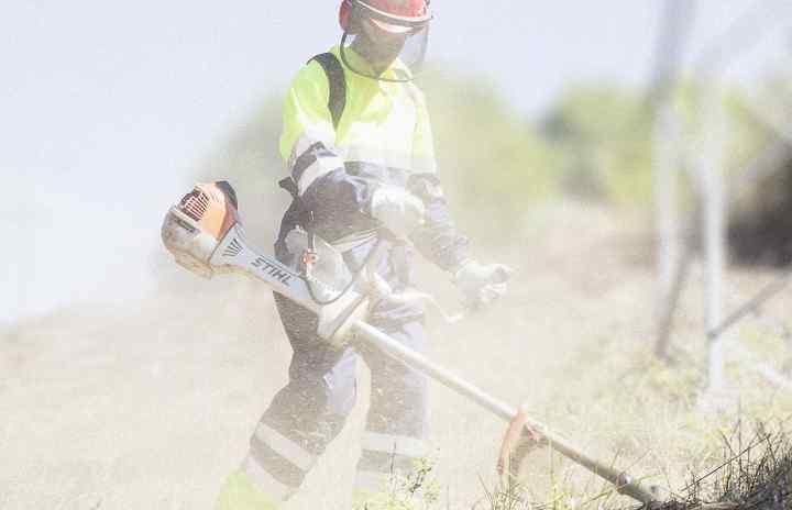 Desbroce mantenimiento linea electrica