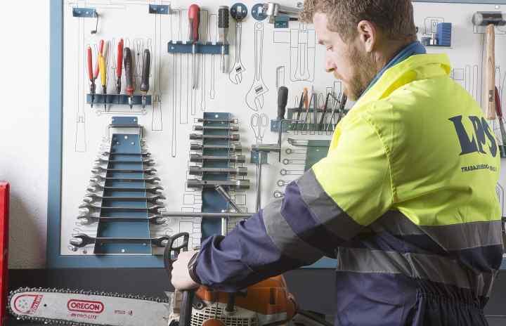 Trabajos de mantenimiento - Sede Bembibre
